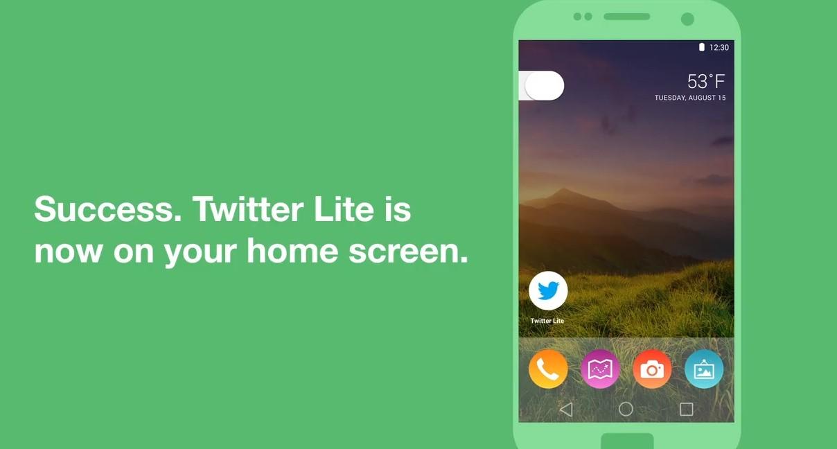 Twitter Lite ホーム画面にショートカットを追加する方法【iPhone/Android】