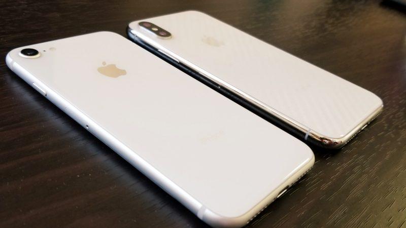【比較】iPhone XとiPhone 8どっちを買うべき?実機を用いて解説