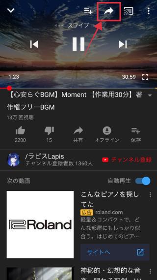 Url 短縮 youtube